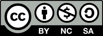 Creative Commons Reconocimiento-NoComercial-CompartirIgual 4.0 Internacional License