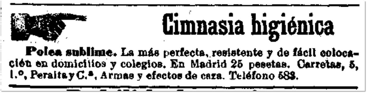 Diario Oficial de Avisos de Madrid, 16 de enero de 1895, p. 4