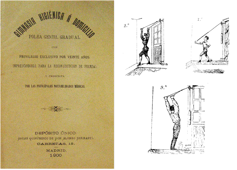 Gimnasia higiénica á domicilio, polea gentil gradual (1900)