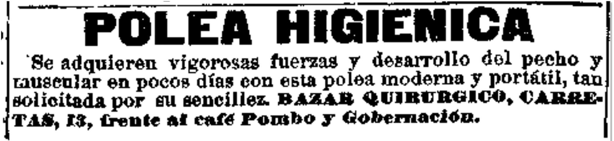 Heraldo de Madrid, 7 de noviembre de 1904, p. 4
