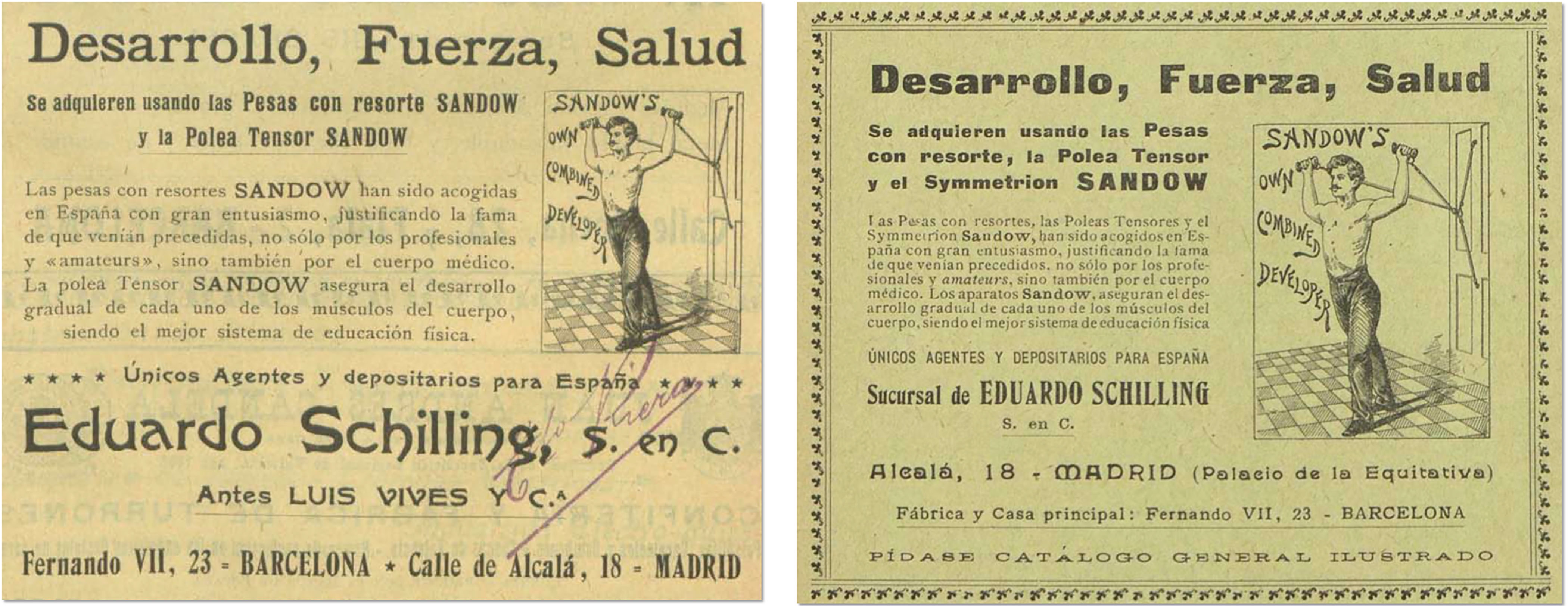 Anuario Riera, Barcelona, 1904; Directorio madrileño, p.744 (publicado por el Anuario Riera), 1905