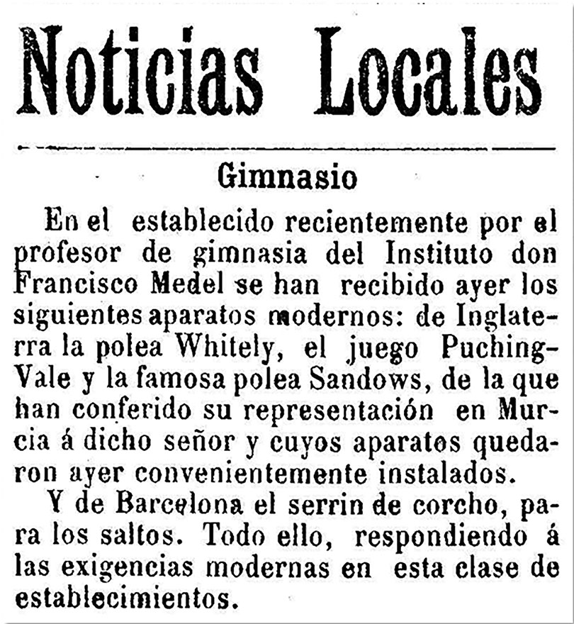 Diario de Murcia, 22 de noviembre de 1900, p. 3