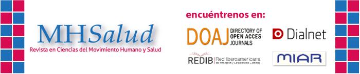 Encuentre artículos de MHSalud también en: DOAJ, REDIB, DIALNET, MIAR