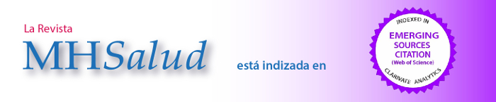 MHSalud se encuentra indizada en Emergin Sources Citation (Web Of Science)