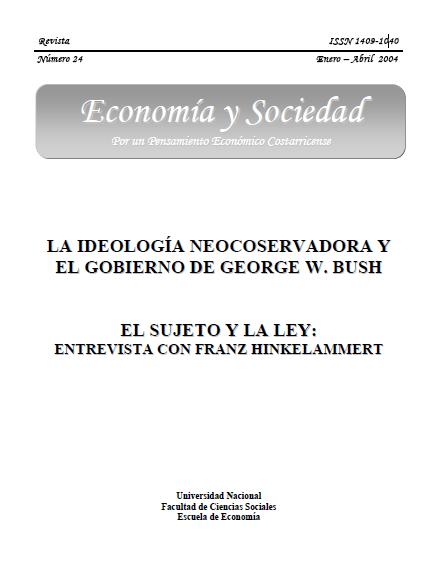 LA IDEOLOGÍA NEOCONSERVADORA Y EL GOBIERNO DE GEORGE W. BUSH ...