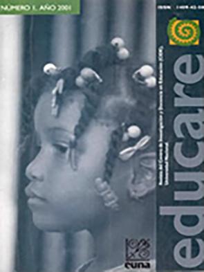 Portada Revista Electrónica Educare, Num 1, 2001