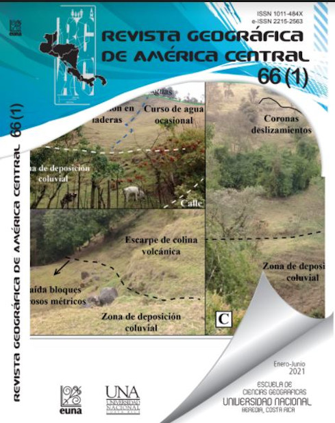 REVISTA GEOGRÁFICA DE AMÉRICA CENTRAL No.66